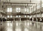 A YMCA gym circa 1920